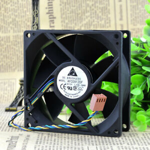 1pc Delta AFC0912DF 12V 1.43A 9032 9CM 4-wire PWM Double Ball Cooling Fan