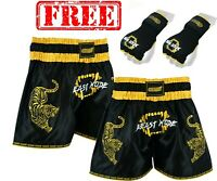 EVO Pro Muay Thai Fight Shorts MMA Kick Boxing Grappling Martial Arts Gear UFC G
