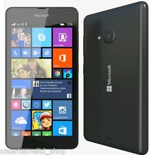 Brand New NOKIA  LUMIA 535 BLACK 8GB Unlocked Sim Free 3G SMARTPHONE - GENUINE