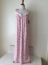 Ladies ADONNA Pink Floral NWT Nightgown Gown size S Small Retail $44.00 (MD19)