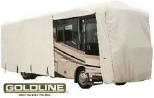 Goldline Class A RV Trailer Cover 34 to 36 foot Grey