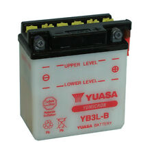 Batterie Moto Yuasa YB3L-B 12volt 3.2Ah 30A 98x56x110mm acide offert