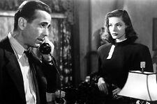 Lauren Bacall Humphrey Bogart on telephone The Big Sleep 11x17 Mini Poster