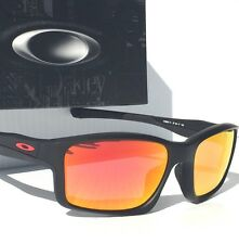 NEW* Oakley CHAINLINK Black w Ducati Red Ruby Iridium Lens Sunglass 9247-11 $200