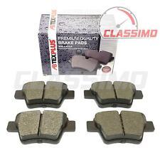 Rear Brake Pads for CITROEN C4 Mk 1 + PEUGEOT 207 + 307 - Bosch Brakes - 2001-12