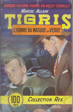 C1 Marcel Allain TIGRIS 6 HOMME MASQUE DE VERRE Collection REX Gourdon PLONGEE