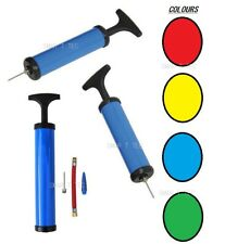 Bicycle Pump T Handle Bike Air Mini Inflatable Toys Tyre Cycle Ball 3 Nozzles