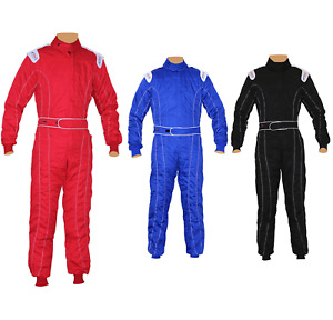 Adult Karting/Kart/Race/Rally suits Adult Poly cotton One Piece Karting Suit