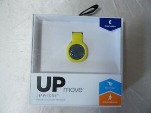 NEW UP MOVE BY JAWBONE WIRELESS ACTIVITY TRACKER W/SMART COACH & FOOD TRACKING