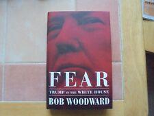 Bob Woodward - FEAR, Trump in The White House, 2018 Hardback
