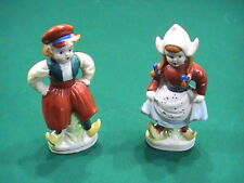 Vintage Dutch Man and Woman Figurines Bone China Made in Japan