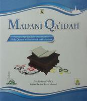 Madani Qaida English(Learn Tajweed  Primiary Qaidah for Reciting the Holy Quran)