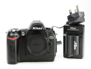 Nikon D70 DSLR Camera Body Only + Nikon Charger & Generic Battery 11,909 Shots