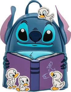 Lilo & Stitch Story Time Duckies Loungefly Mini Backpack Bag  [LOUWDBK1656]