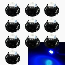 10Pcs Blue T5/T4.7 Neo Wedge LED Bulb Dash Climate Control Instrument Base Light
