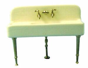 Dolls House Kitchen    Ceramic Sink