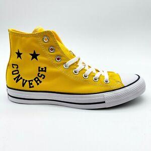 Converse Chuck Taylor All Star Hi Amarillo Smiley Lemon Mens Shoes 167070F