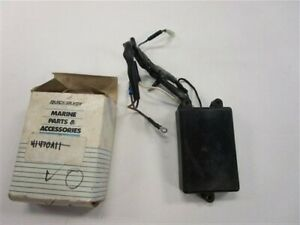 MERCURY QUICKSILVER 41470A11 WARNING MODULE MARINE BOAT