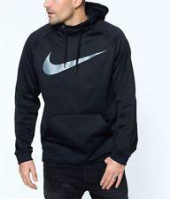 Nike Sportswear Therma Sudadera con capucha de carbono, 823086-010, XL