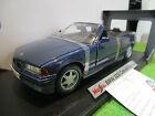 BMW 325i convertible cabriolet bl 1/18 MAISTO 37812 voiture miniature collection