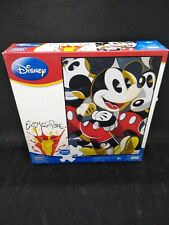 DISNEY EXPRESS SIGNS, MOUSING AROUND MICKEY 300 PIECE PUZZLE, NIB, 2012