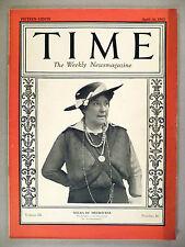 Time Magazine - April 18, 1927 ~ Nellie Melba, Opera Singer ~ nice condition