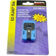 Platinum Tools ezRJ45 Die for EXO Crimp Frame P.No 100072C