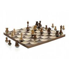 Umbra U + barillet Chess Set en noyer