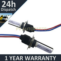 2X BULBS FOR AFTER MARKET HID CONVERSION KIT XENON 10000K BLUE 55W WIRE IN