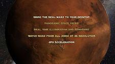 Planet Mars Martian Orbital 3D Viewer and Screensaver