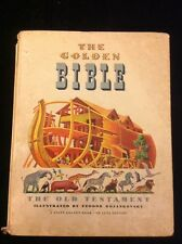 1946 The Golden Bible, The Old Testament, De Luxe Editions.