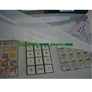 Casio TE100 TE2000 Cash Register Wetcover Wet Cover, Keyboard Plastic Cover