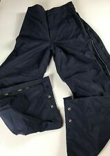 United Airlines Pants Mens Small Zip Away Off 28 x 29 Actual Employee Uniform