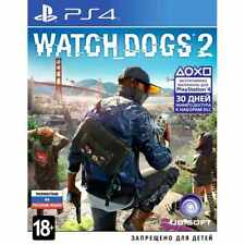 PS4 Watch_Dogs 2 PlayStation 4 game new sealed Watch Dogs 2