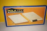 RF12] POLA-LGB 904 Bahnhofsgrundplatten-Set Wetterfest Spur G gebraucht OVP