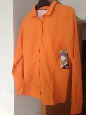 Ladies Mountain Hard Wear BNWT size 6 Orange Shirt