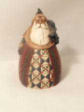 Jim Shore Holiday Santa Figurine NO BOX 3 1/2 inches C107461 2002