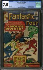 Fantastic Four #34 CGC 7.0 (W) George R.R. Martin Letter
