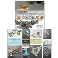 The Art of Jewelry Makers 3 Books Collection Set, Silversmithing for Jewelry NEW