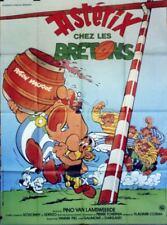 Affiche cinéma Astérix chez les bretons Uderzo