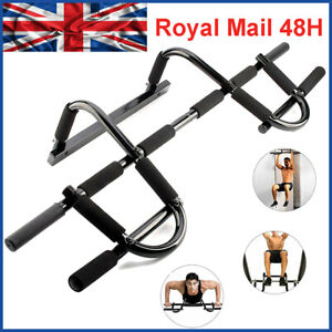 Door Pull Up Bar Chin Up SitUp Dips Gym Fitness Strength Workout Door Bars 6in1