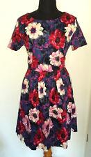 SOMMERKLEID 🌷 Kleid Blumen SUPERSTITION 🌷 M 38 Blumen TRAUM boho NEU Mohn...
