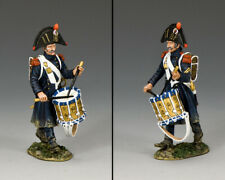 KING & COUNTRY THE AGE OF NAPOLEON NA406 FRENCH OLD GUARD DRUMMER MIB