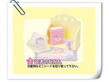 Re-ment Little Twin Stars Dream Room Mini Book Shelf - No.2