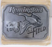 New 1980 REMINGTON First in the Field - Canada Goose  BELT BUCKLE by Sid Bell