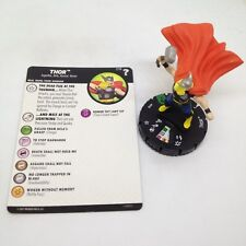 Heroclix Marvel's What If? set Thor #018 Uncommon figure w/card!