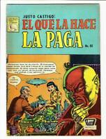 YELLOW CLAW 1 MEXICAN VARIANT COVER LA PRENSA MEXICO IN SPANISH