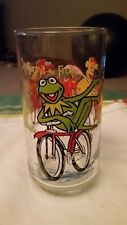 Vintage McDonalds 1981 The Great Muppet Caper Kermit the Frog Collectible Glass