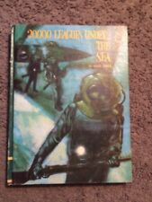 Vintage Book 20,000 Leagues Under The Sea Jules Verne  Classic 1968 HC