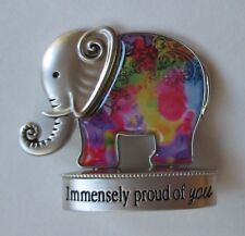 e Immensely proud of you LUCKY ELEPHANT FIGURINE miniature Ganz